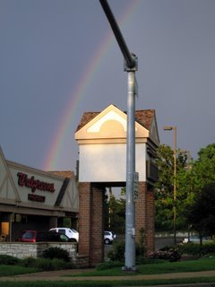 July 22, 2006 - Rainbow Outside Walgreens, Route 59, West Chicago, IL